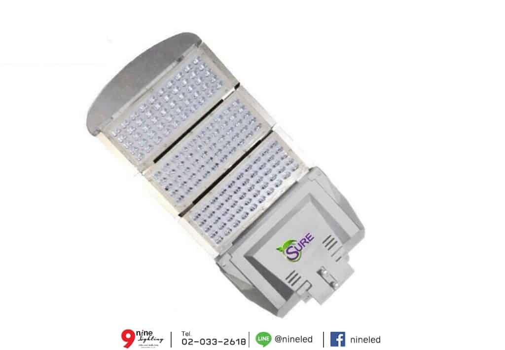 โคมไฟถนน LED Street Light 150w (เดย์ไลท์) SURE