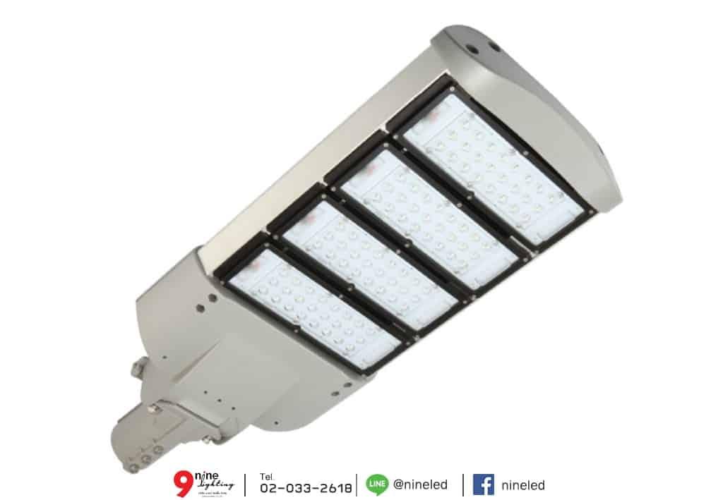 โคมไฟถนน LED Street Light 120w (วอร์มไวท์) EVE