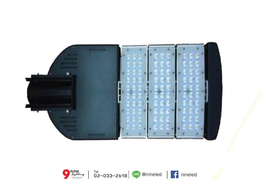 โคมไฟถนน LED Street Light 120w (คูลไวท์) GATA หน้าโคม